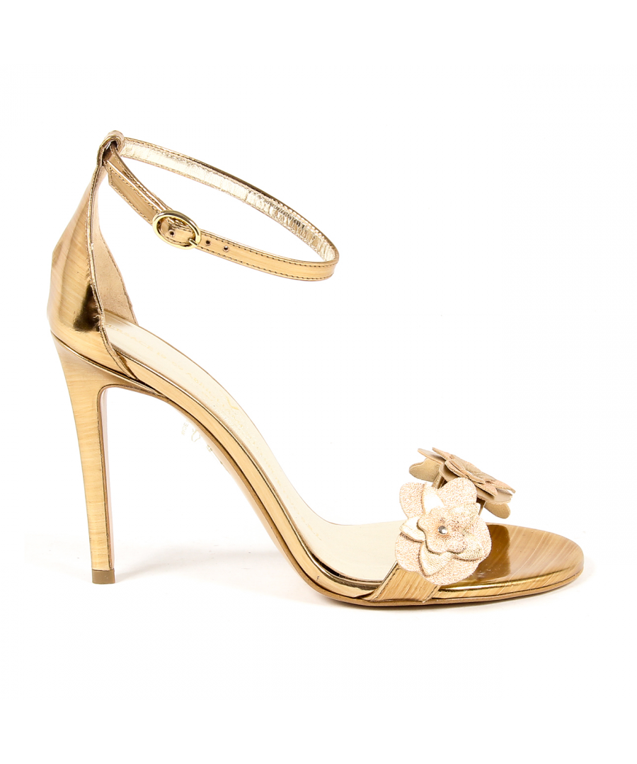 Image for V 1969 Italia Womens Ankle Strap Sandal Bronze CATALINA