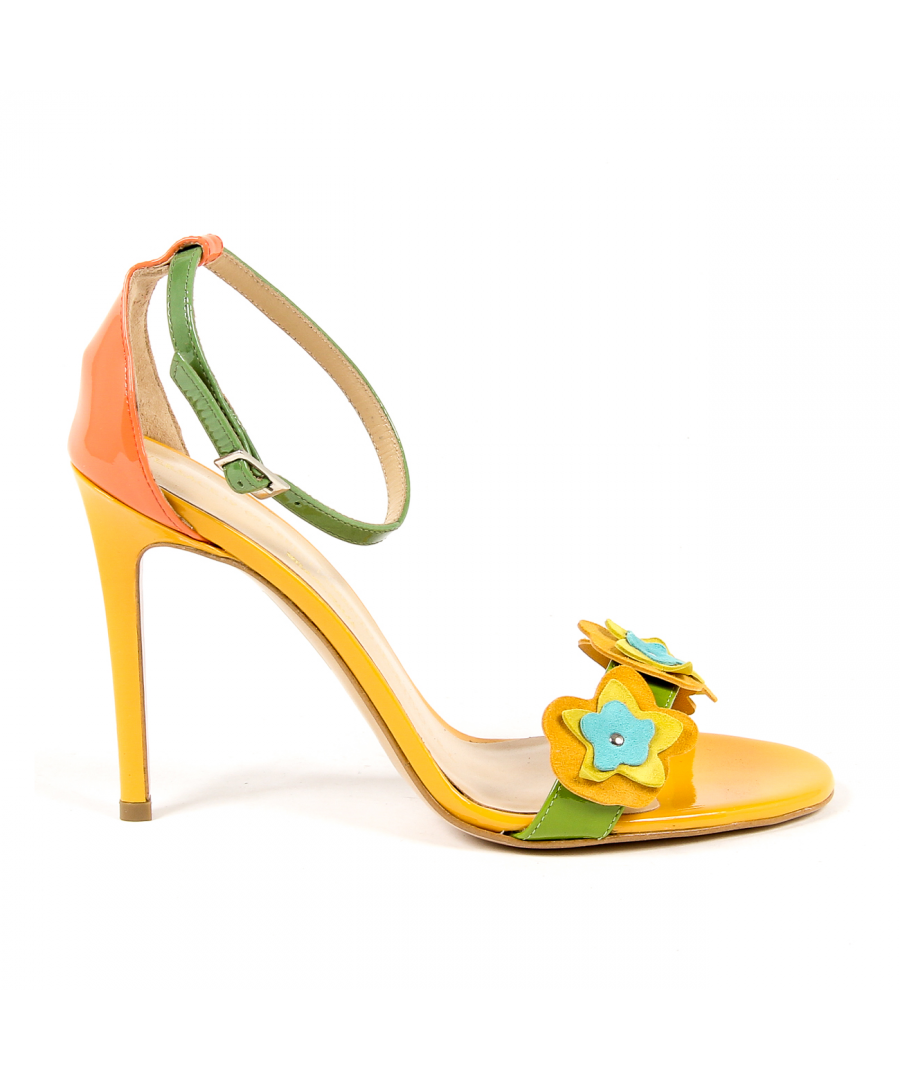 Image for V 1969 Italia Womens Ankle Strap Sandal Multicolor CATALINA