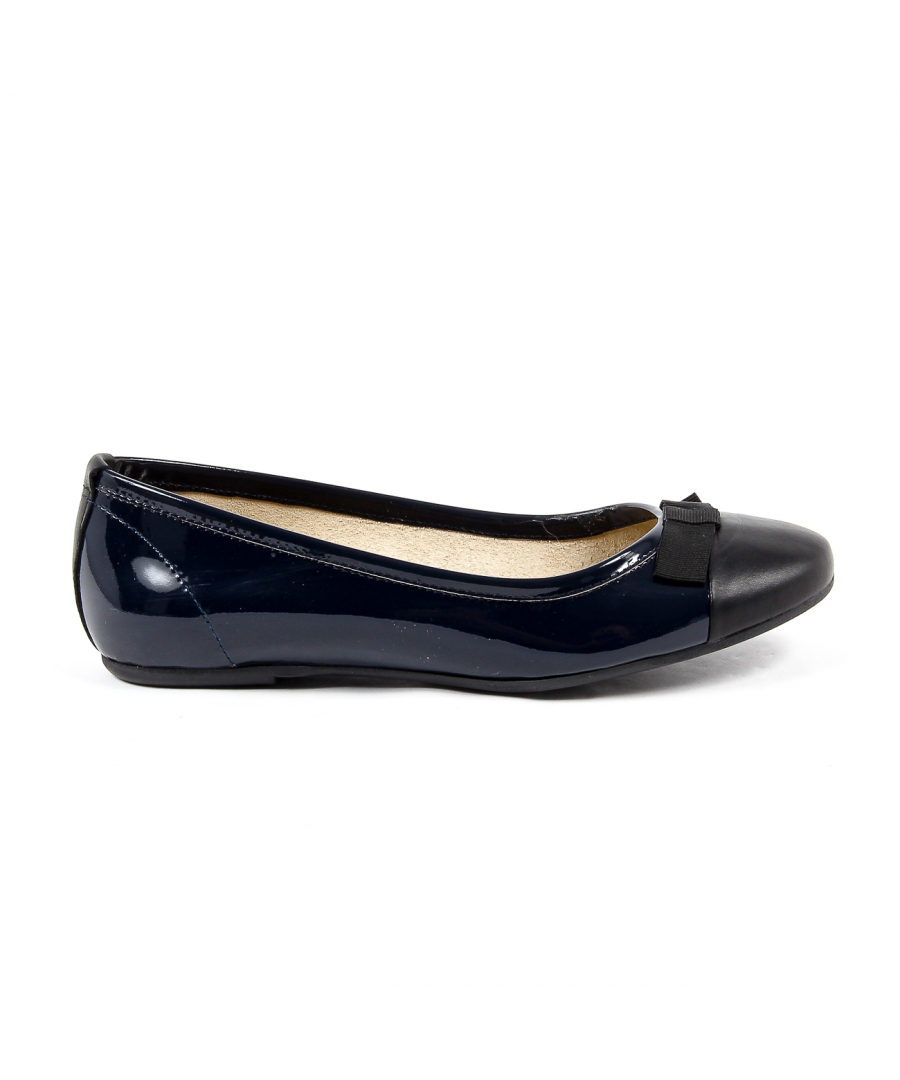 Image for V 1969 Italia Womens Ballerina Blue GEMMA