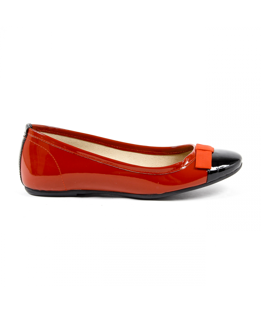 Image for V 1969 Italia Womens Ballerina Red GEMMA