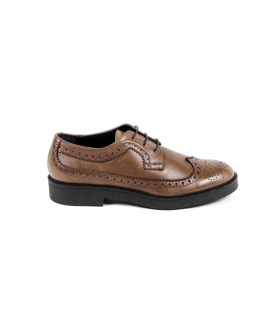 Image for V 1969 Italia Womens Brogue Shoe B1670 VITELLO BROWN