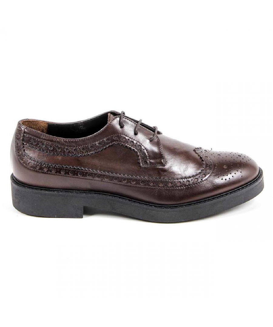 Image for V 1969 Italia Womens Brogue Shoe B1670 VITELLO T. MORO COCCO