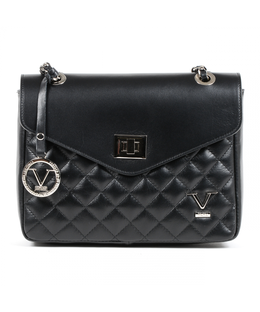 Image for V 1969 Italia Womens Handbag Black BEATRICE