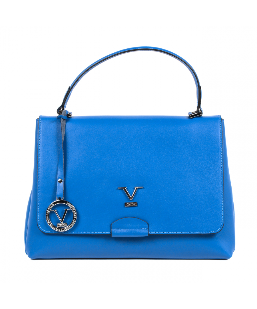Image for V 1969 Italia Womens Handbag Blue SIMONA
