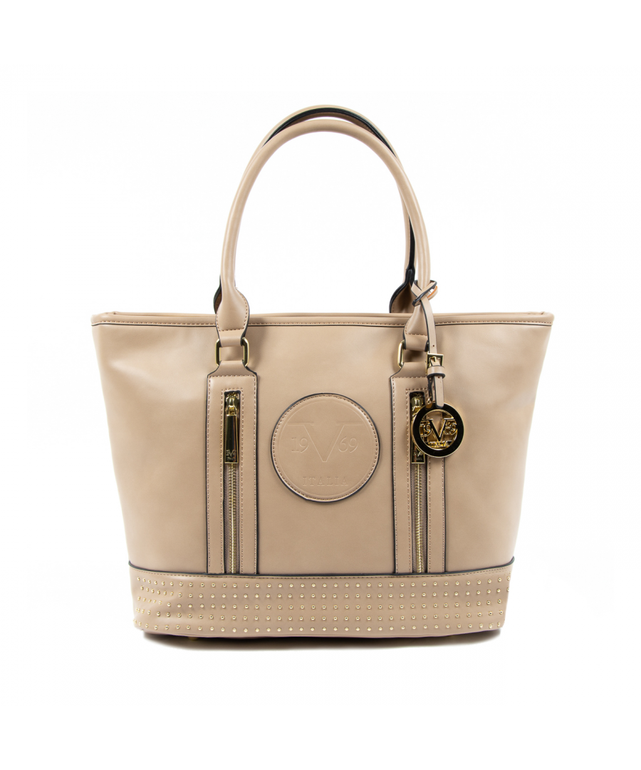 Image for V 1969 Italia Womens Handbag Brown AGATA