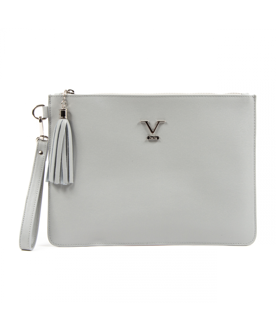 Image for V 1969 Italia Womens Handbag Grey LIME
