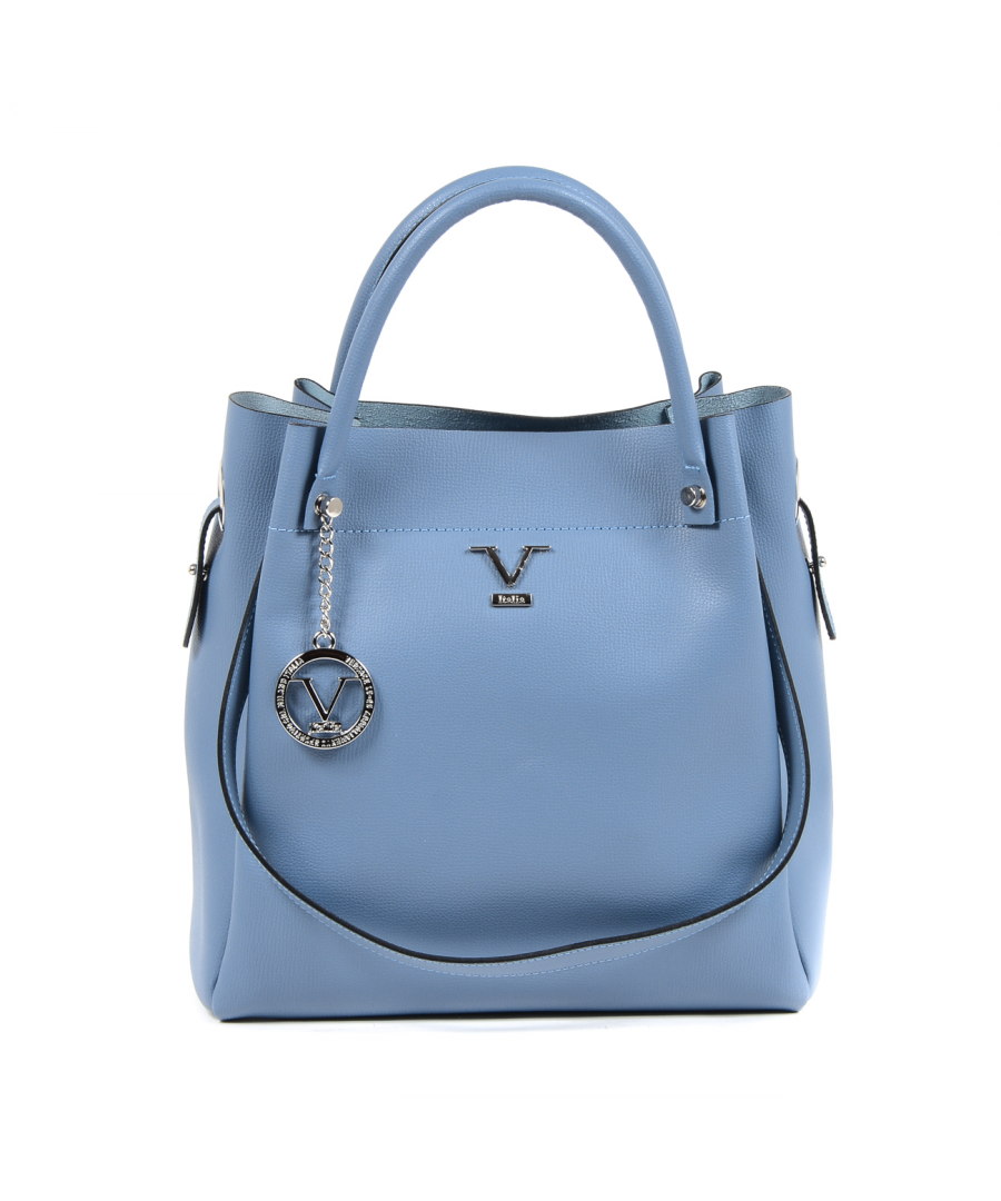 Image for V 1969 Italia Womens Handbag Light Blue ALESSIA