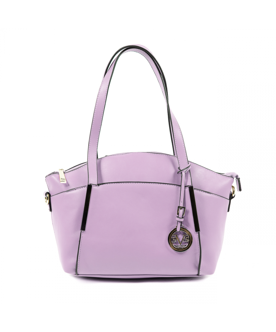 Image for V 1969 Italia Womens Handbag Purple GIULIA