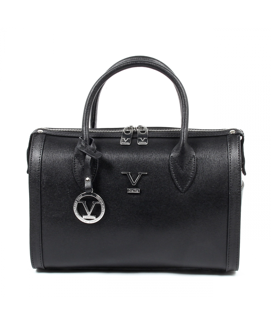 Image for V 1969 Italia Womens Handbag V014-S PALMELLATO NERO