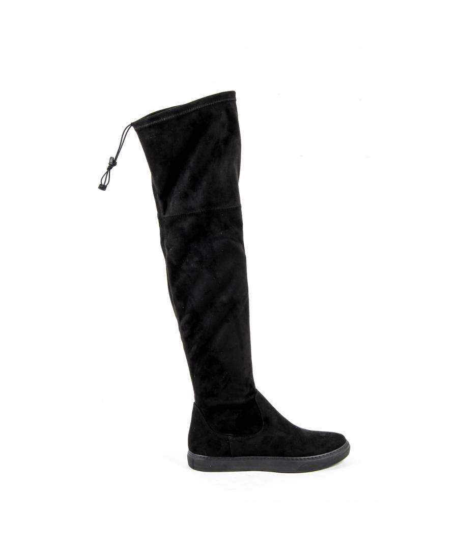 Image for V 1969 Italia Womens High Boot Black GLASS