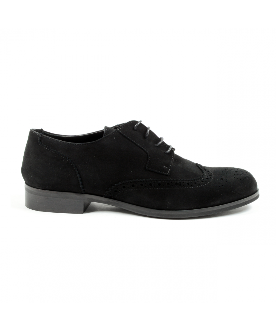 Image for V 1969 Italia Womens Lace Up Shoe Black SULLY