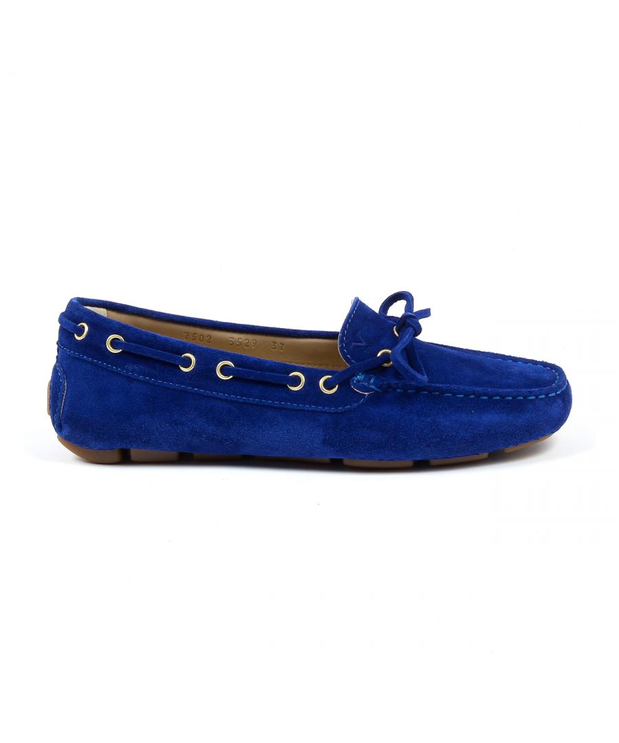Image for V 1969 Italia Womens Loafer Blue PISA