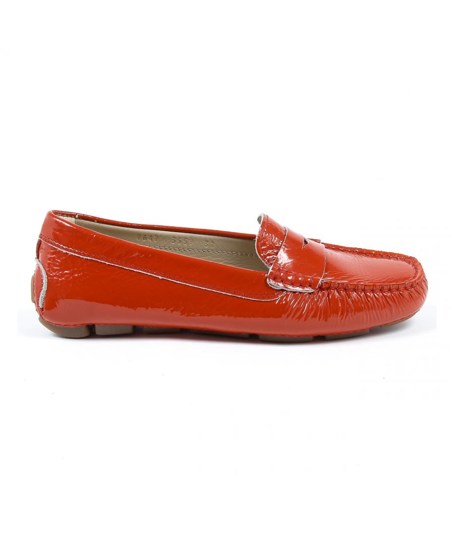 Image for V 1969 Italia Womens Loafer Red AMALFI