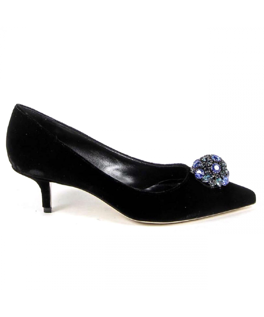 Image for V 1969 Italia Womens Pump 3106153 VELLUTO NERO