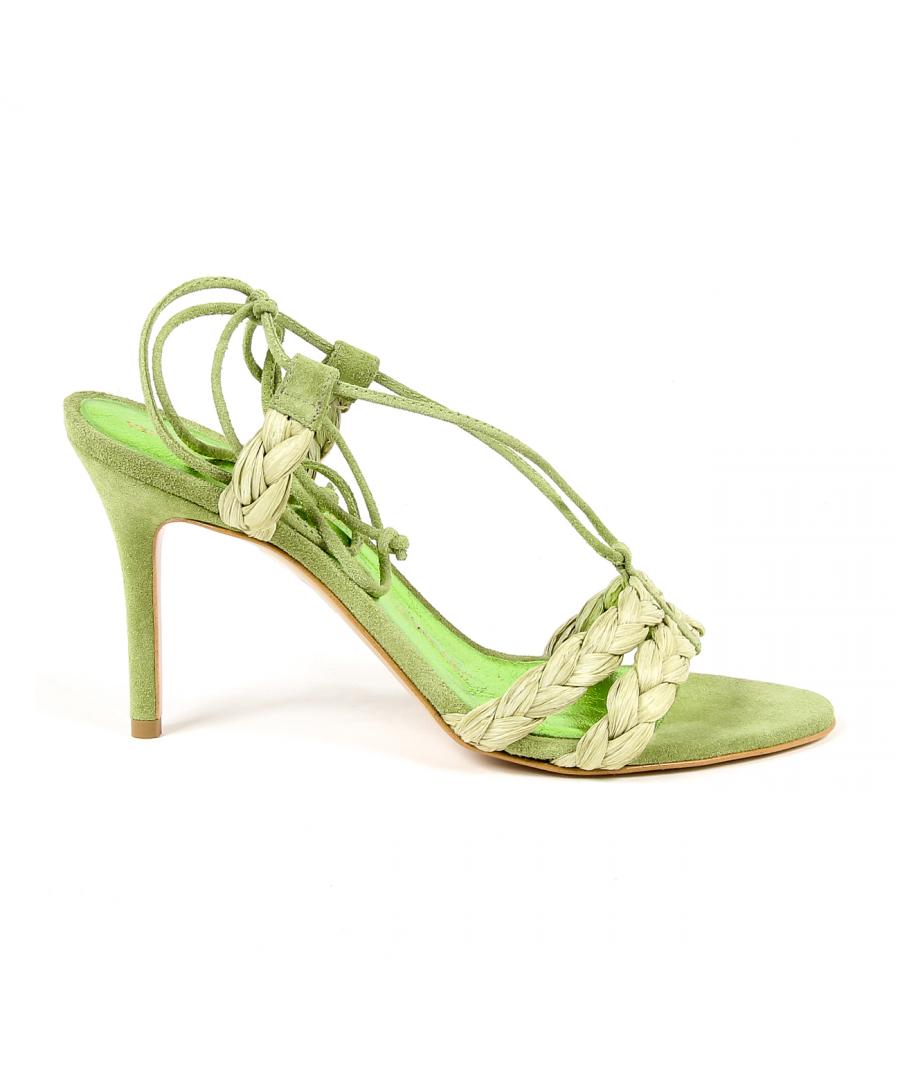 Image for V 1969 Italia Women's Sandal Green LETITIA