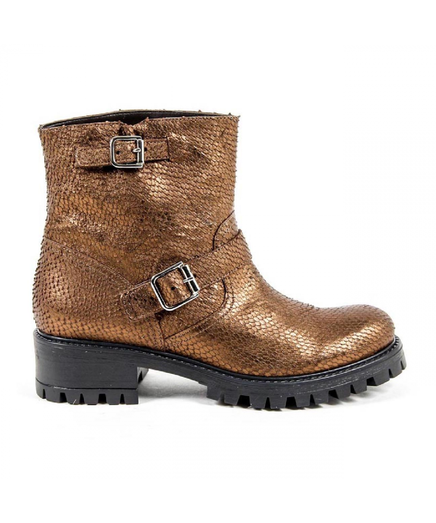 Image for V 1969 Italia Womens Short Boot B1441 VIPER BRONZO
