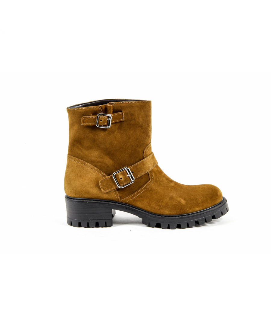Image for V 1969 Italia Womens Short Boot Brown AMALFI