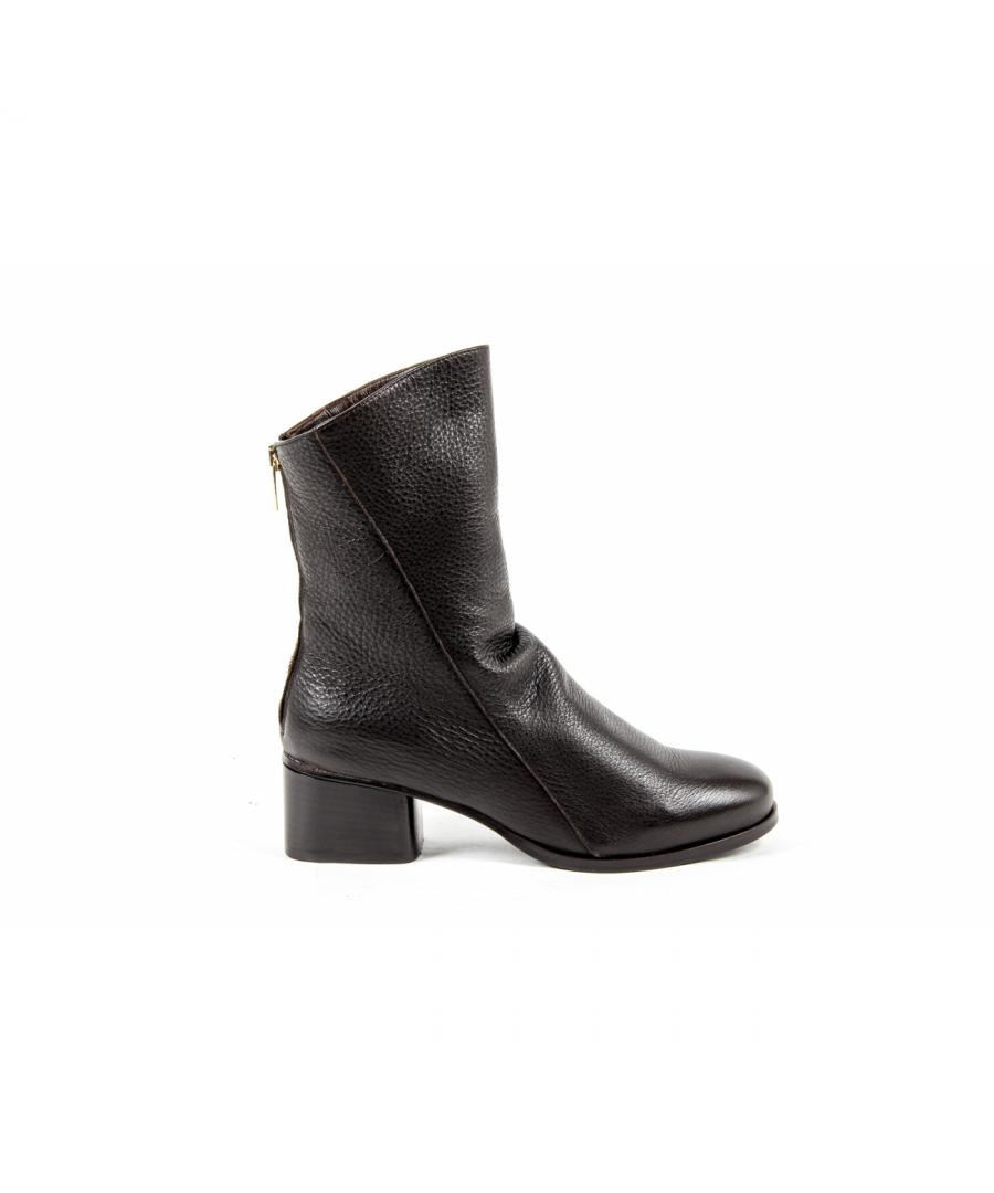 Image for V 1969 Italia Womens Short Boot Brown PLUM