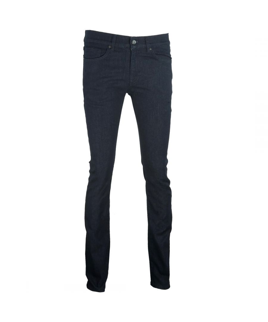 Image for Versace Collection Slim Fit Blue Jeans