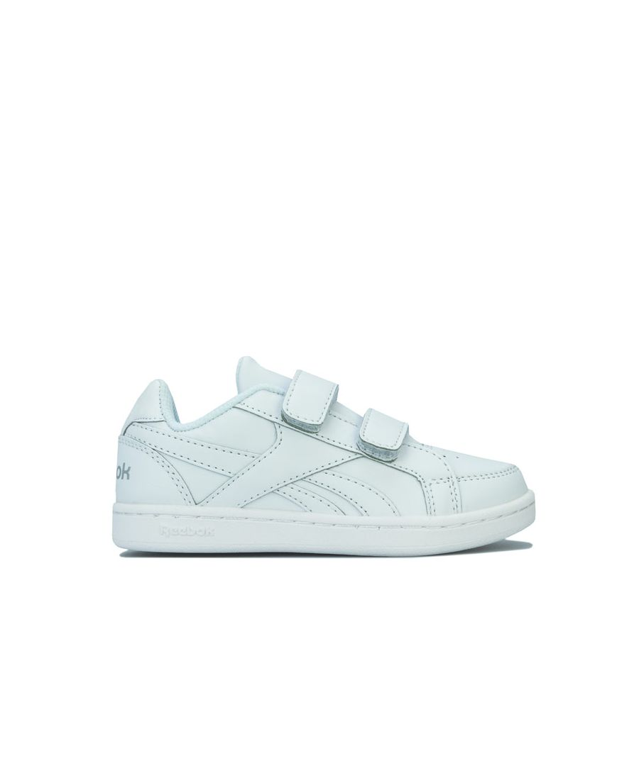 Image for Girl's Reebok Children Royal Prime Trainers in White silver