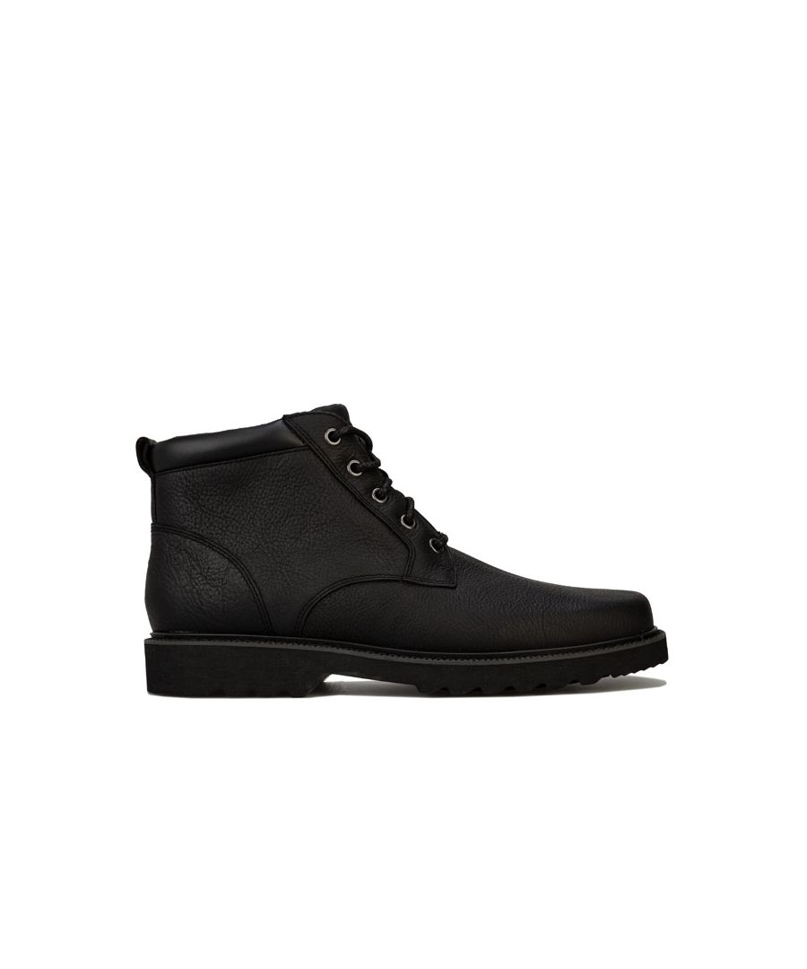 Image for Men's Rockport Main Route Plain Toe Boots in Black