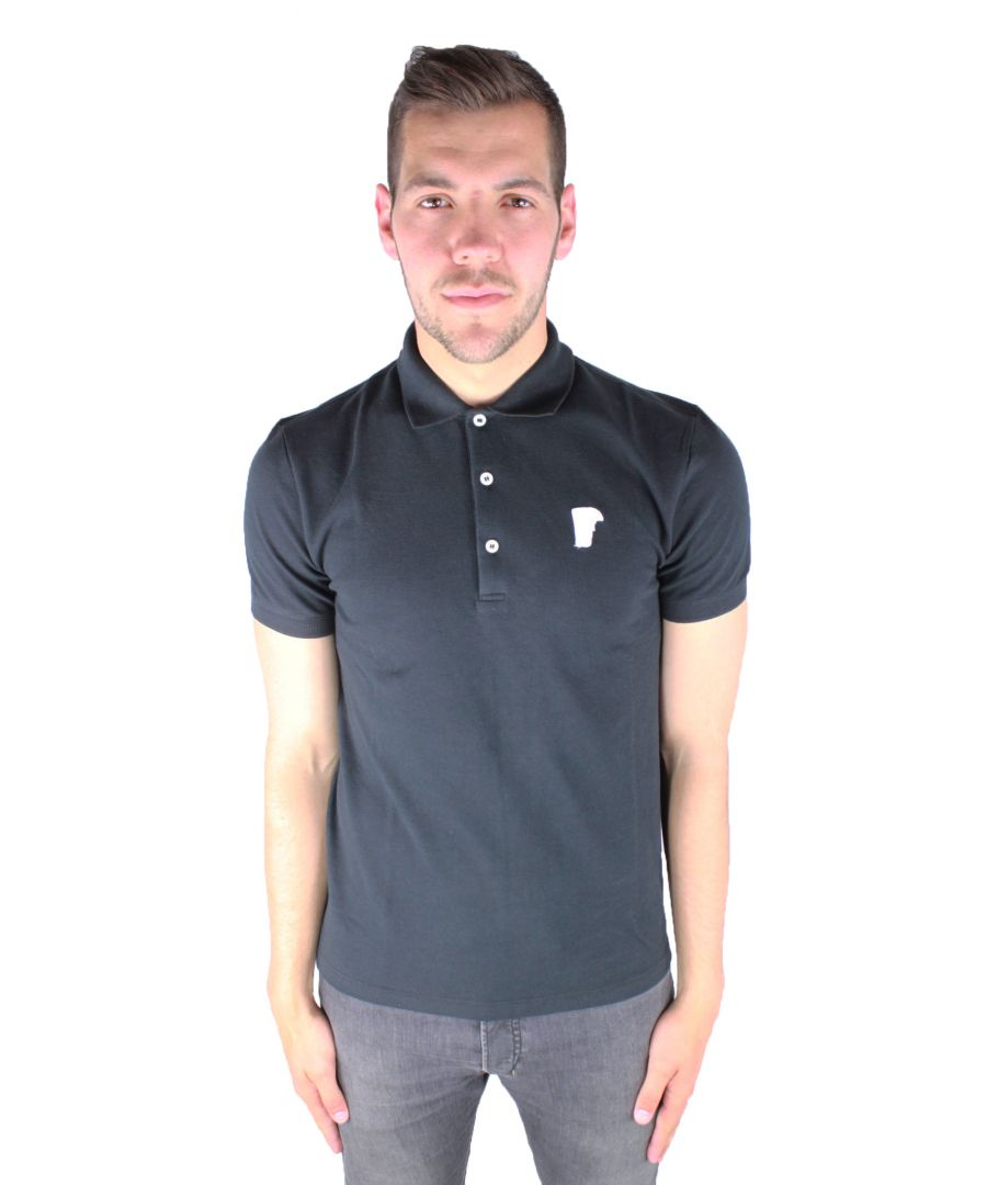 Image for Versace Collection V800499S VJ00068 V000 Polo Shirt