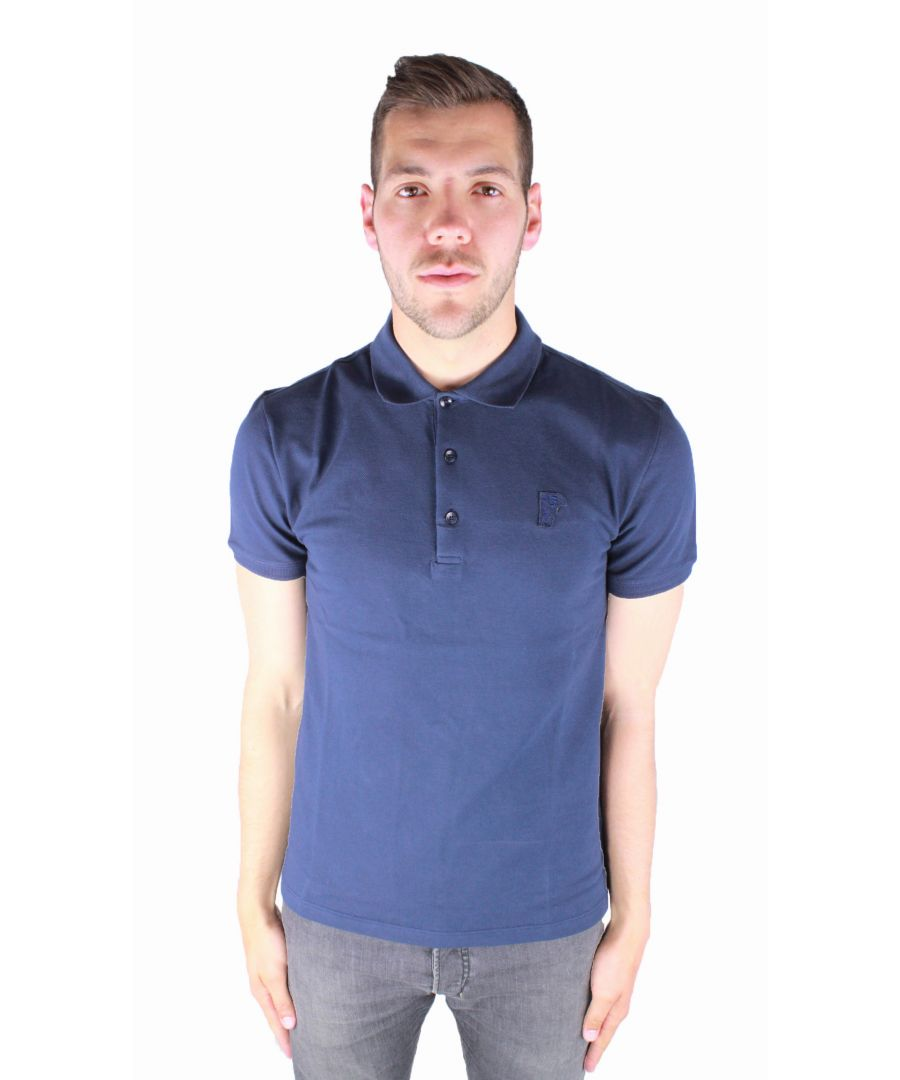 Image for Versace Collection V800499S VJ00068 V410 Polo Shirt