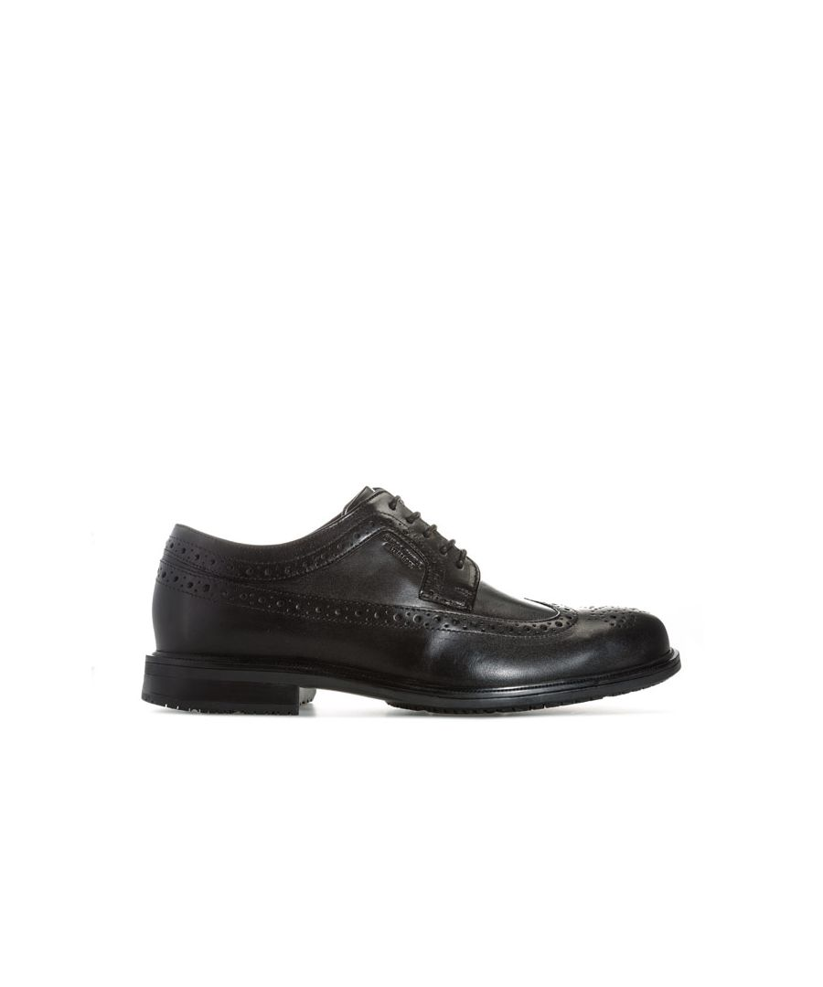 Image for Men's Rockport Essential Details Wing Shoe in Black