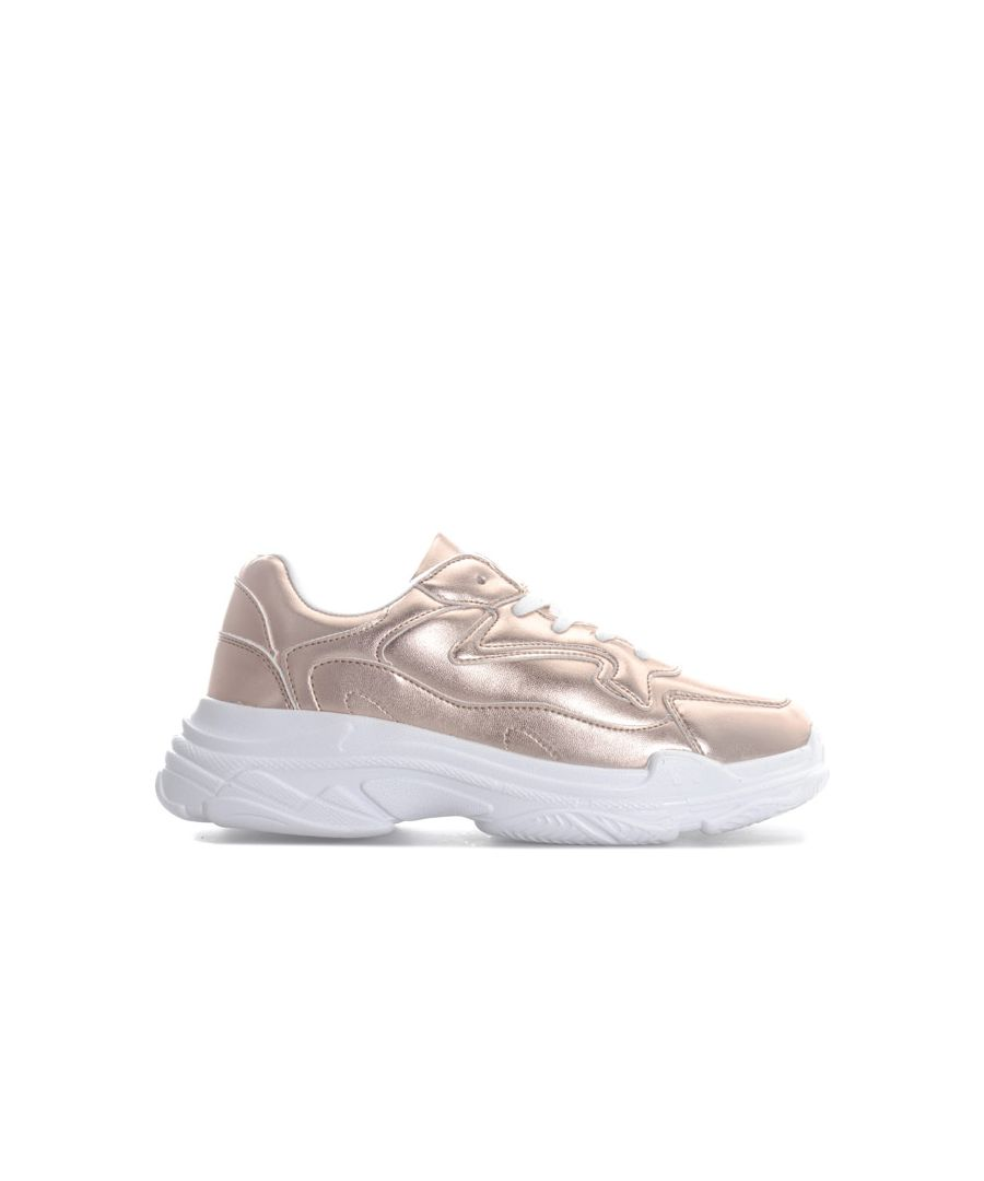 Image for Women's Rocket Dog Vader Trainers in Rose Gold