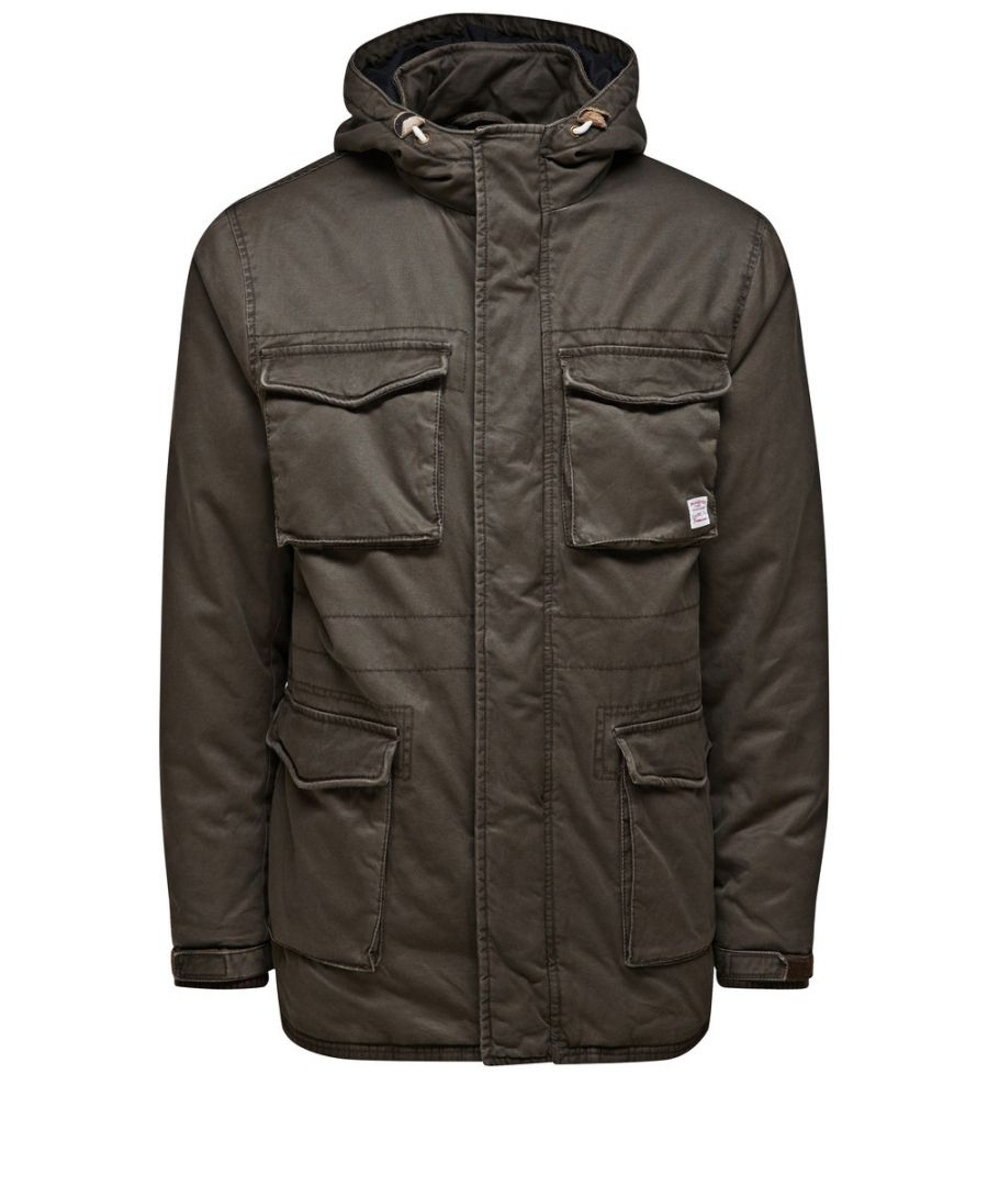 Image for Jack and Jones Vintage Value Brown Jacket