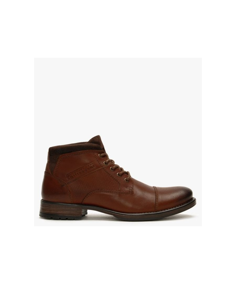 Image for Ottonkern Leather Casual Ankle Boots