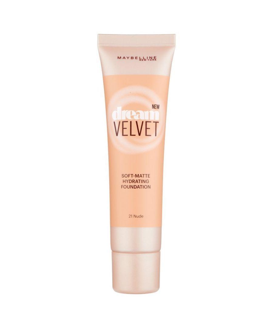 Image for Maybelline New York Dream Velvet Soft Matte Foundation 30ml - 21 Nude