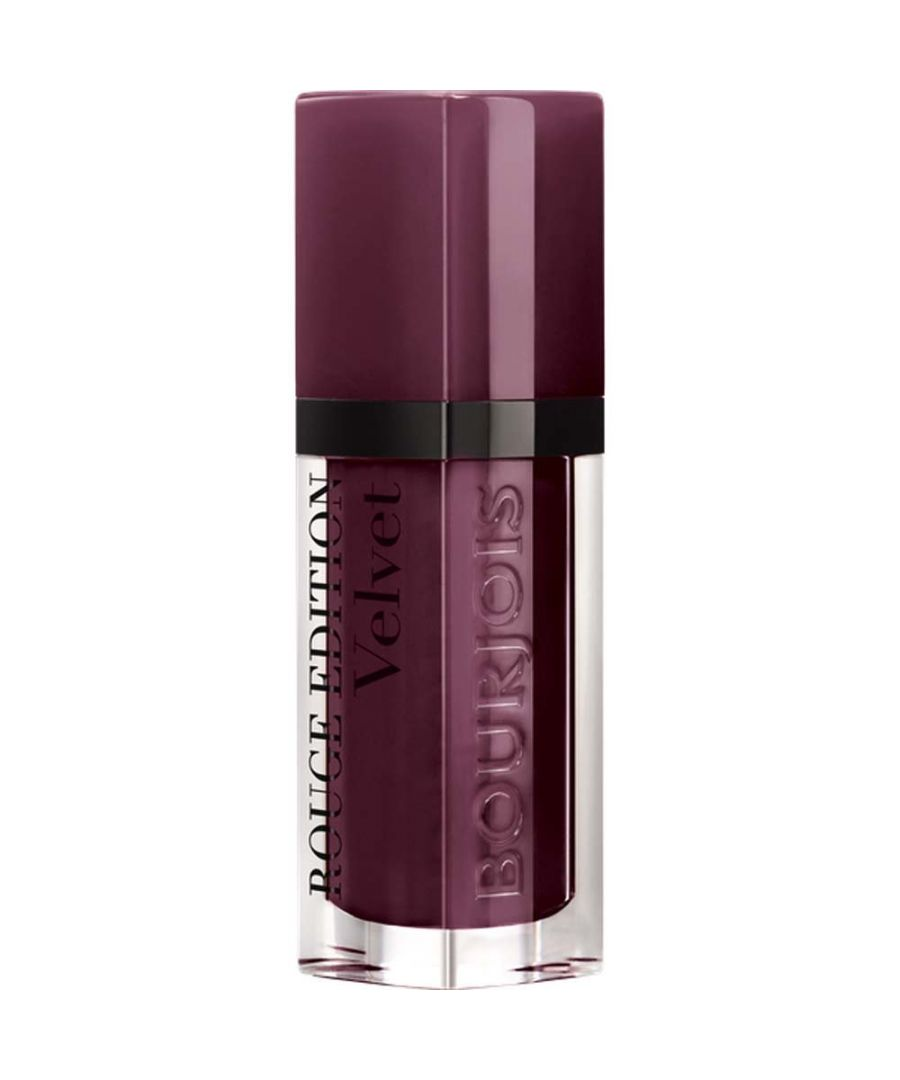 Image for Bourjois Paris Rouge Edition Velvet Lipstick 7.7ml - 25 Berry Chic