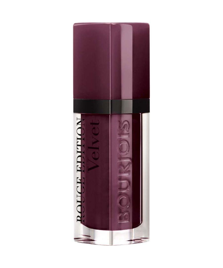Image for Bourjois Paris Rouge Edition Velvet Lipstick 7.7ml - 25 Berry Chic