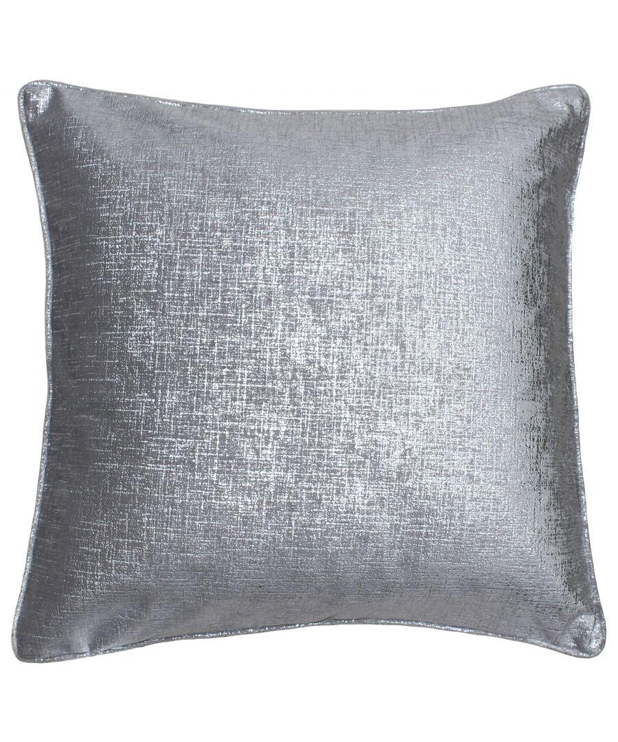 Image for Venus 45X45 Poly Cushion Silver