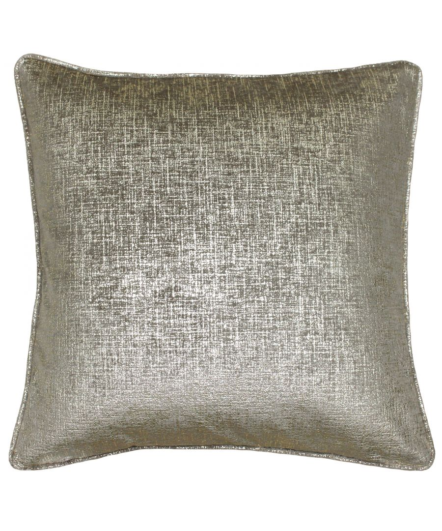 Image for Venus 45X45 Poly Cushion Taupe/Gold