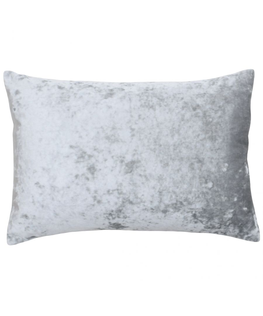 Image for Verona 40X60 Poly Cushion Silver