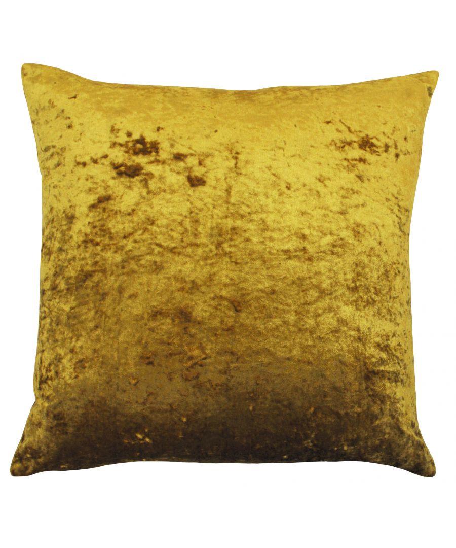 Image for Verona 55X55 Poly Cushion Ochre