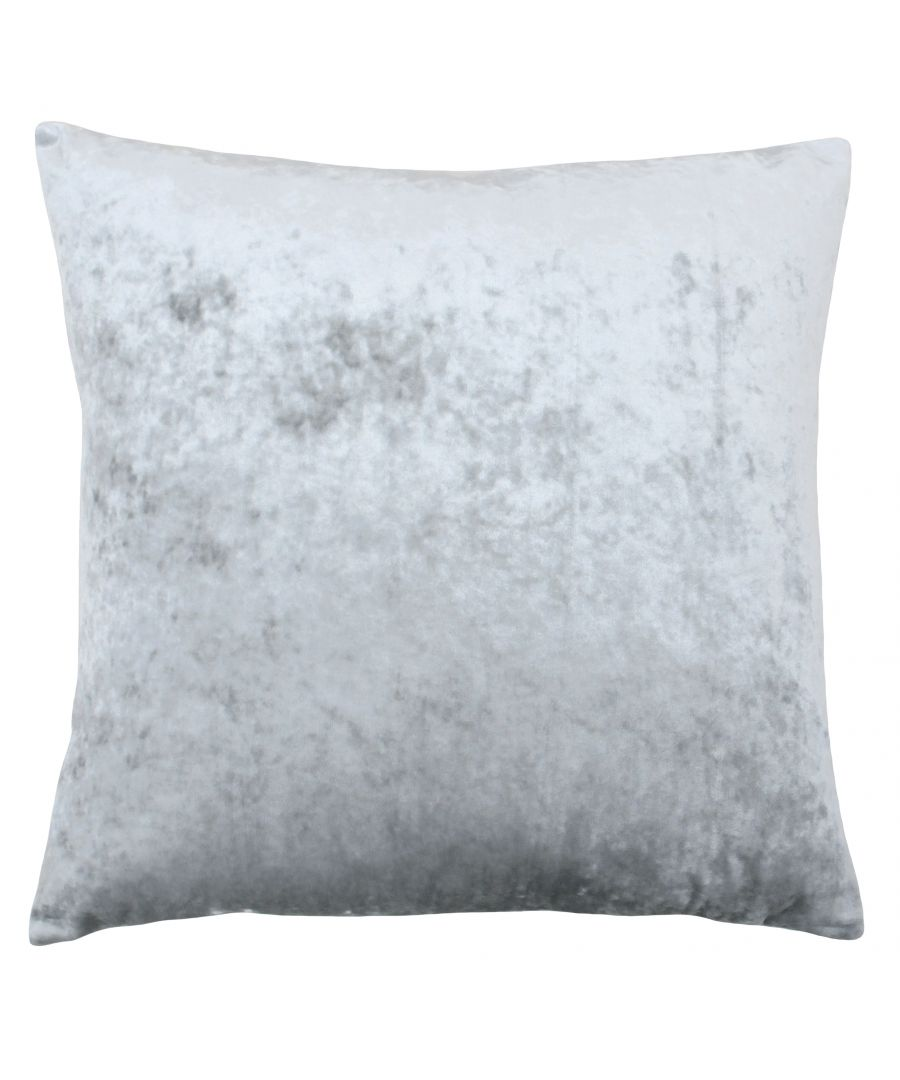 Image for Verona 55X55 Poly Cushion Silver
