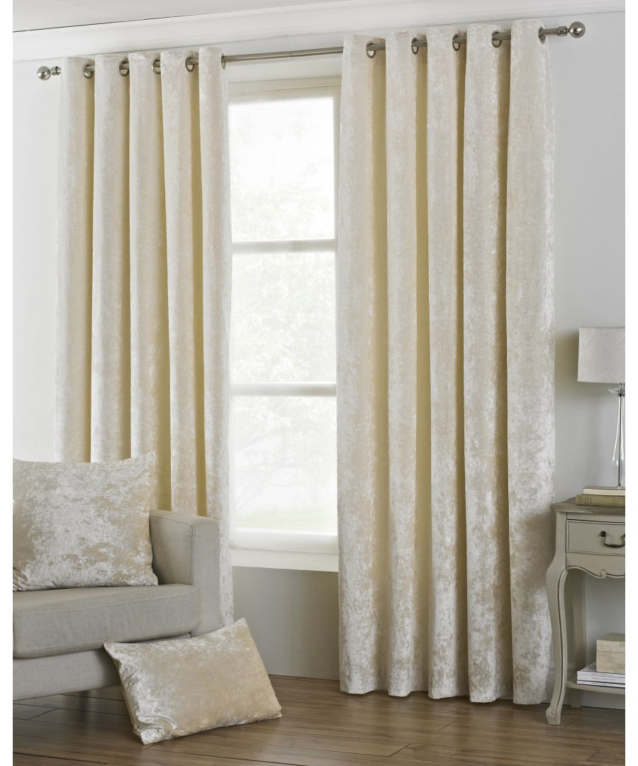 Image for Verona Curtains Ivory