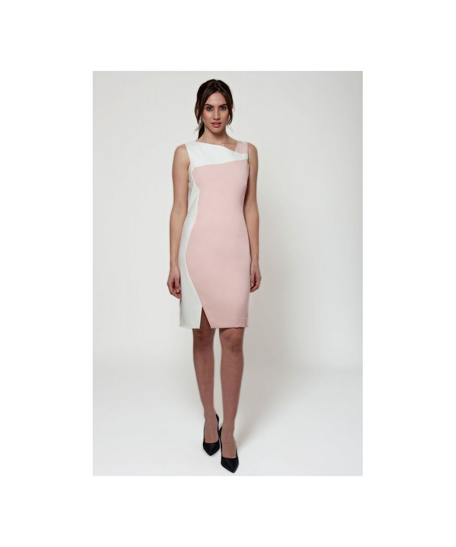 Image for Colour Block Knee Length Dress