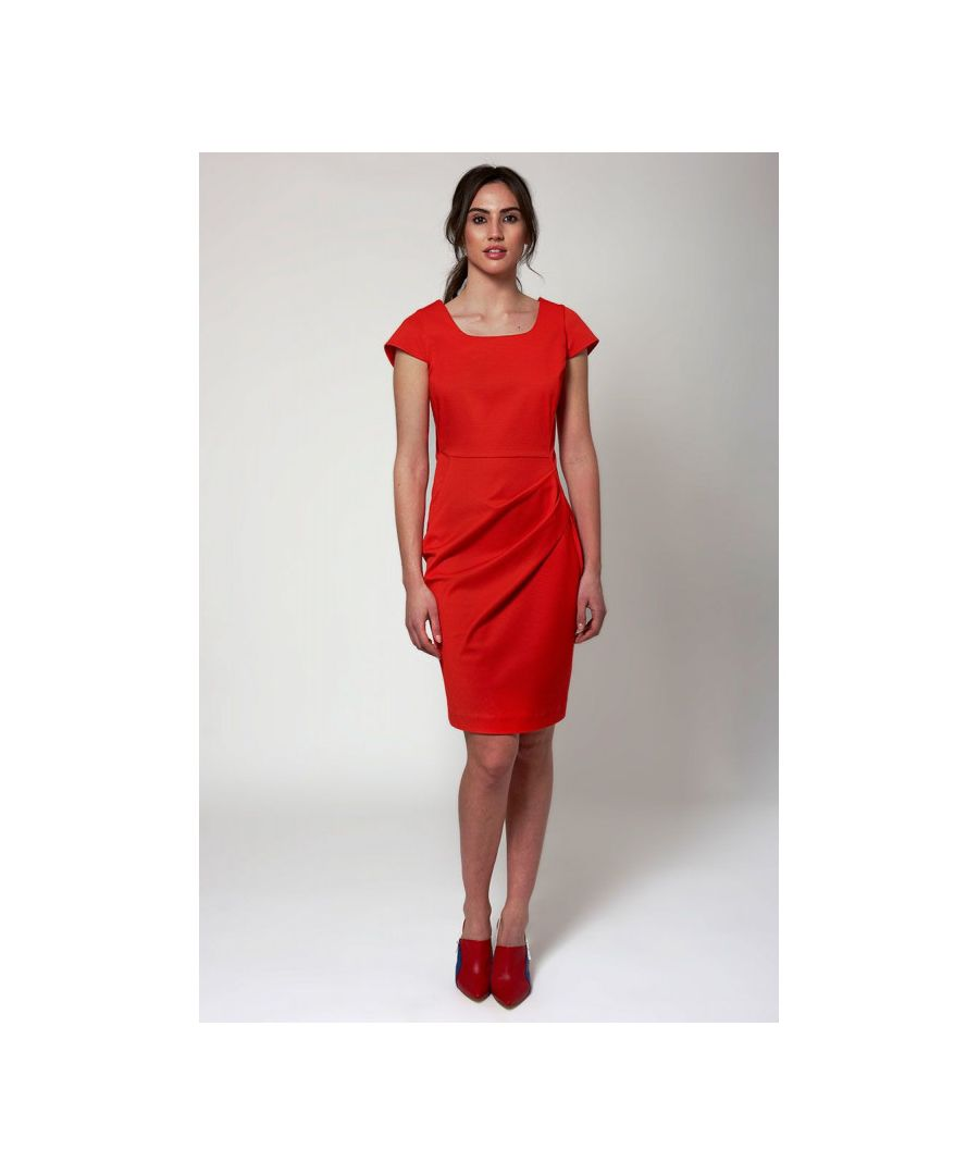 Image for Piquet Knee Length Dress
