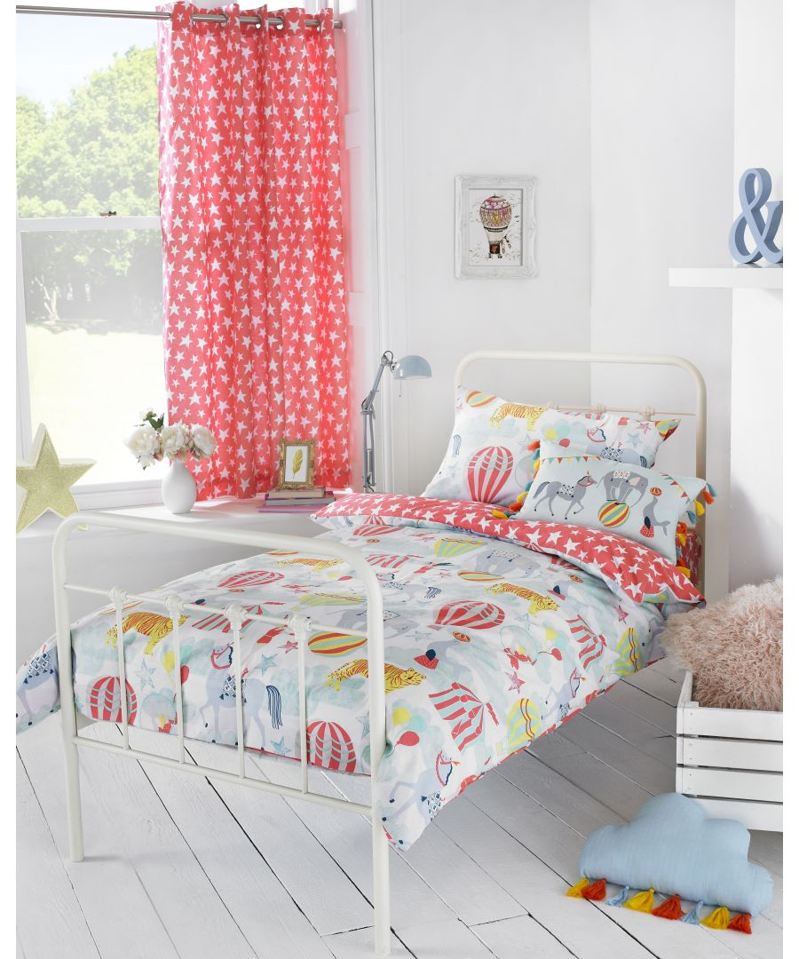 Image for Vintage Circus Toddler Duvet Set Mul