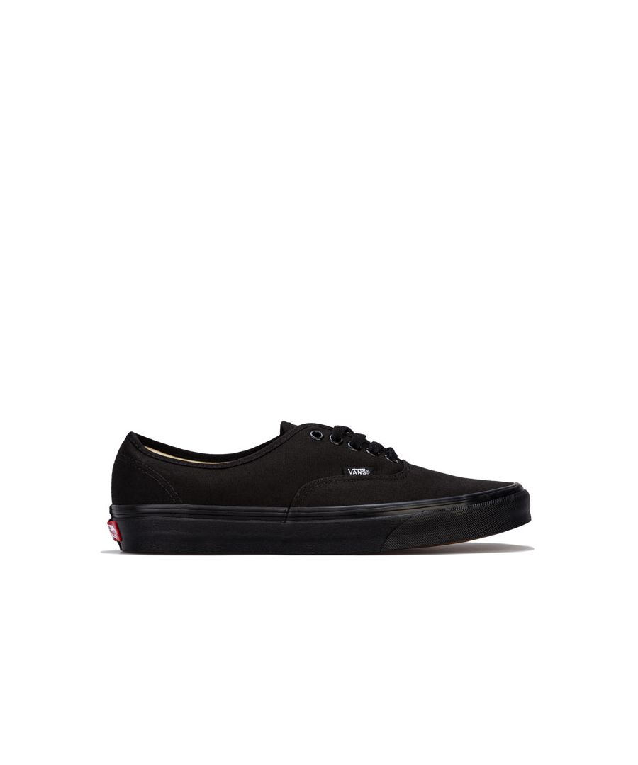 Image for Women's Vans Authentic Skate Shoes in Black