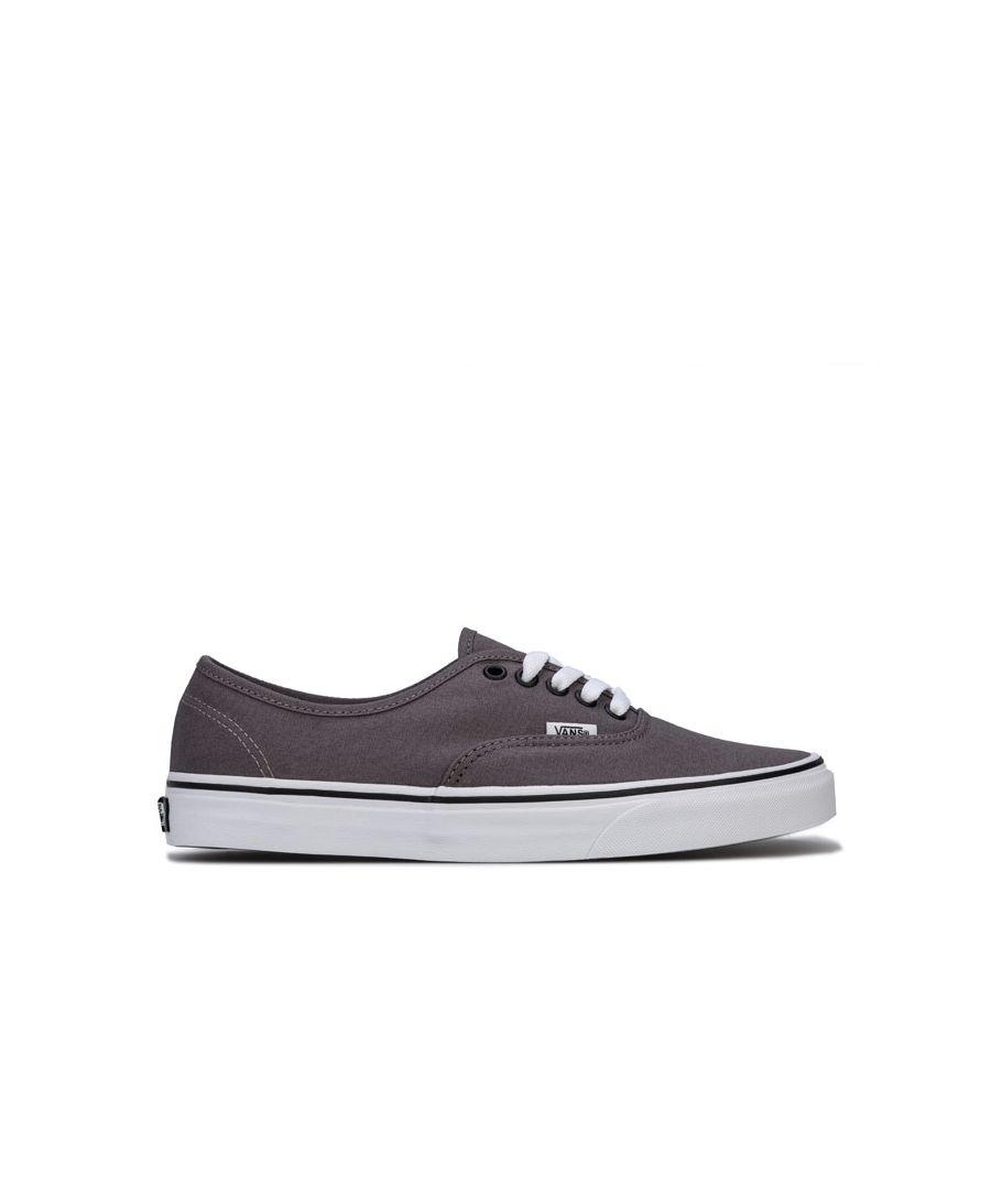 Image for Men's Vans Authentic Skate Shoes in Grey