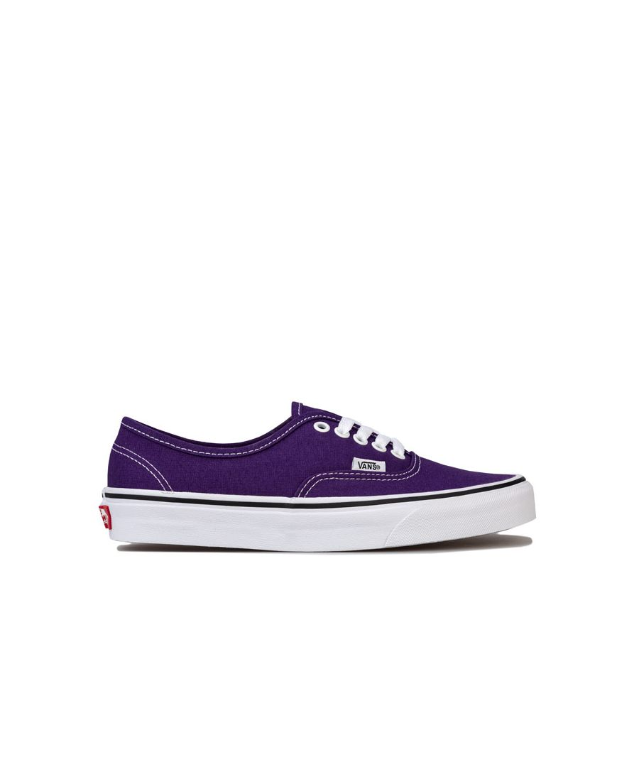 Image for Women's Vans Authentic Skate Shoes in Indigo