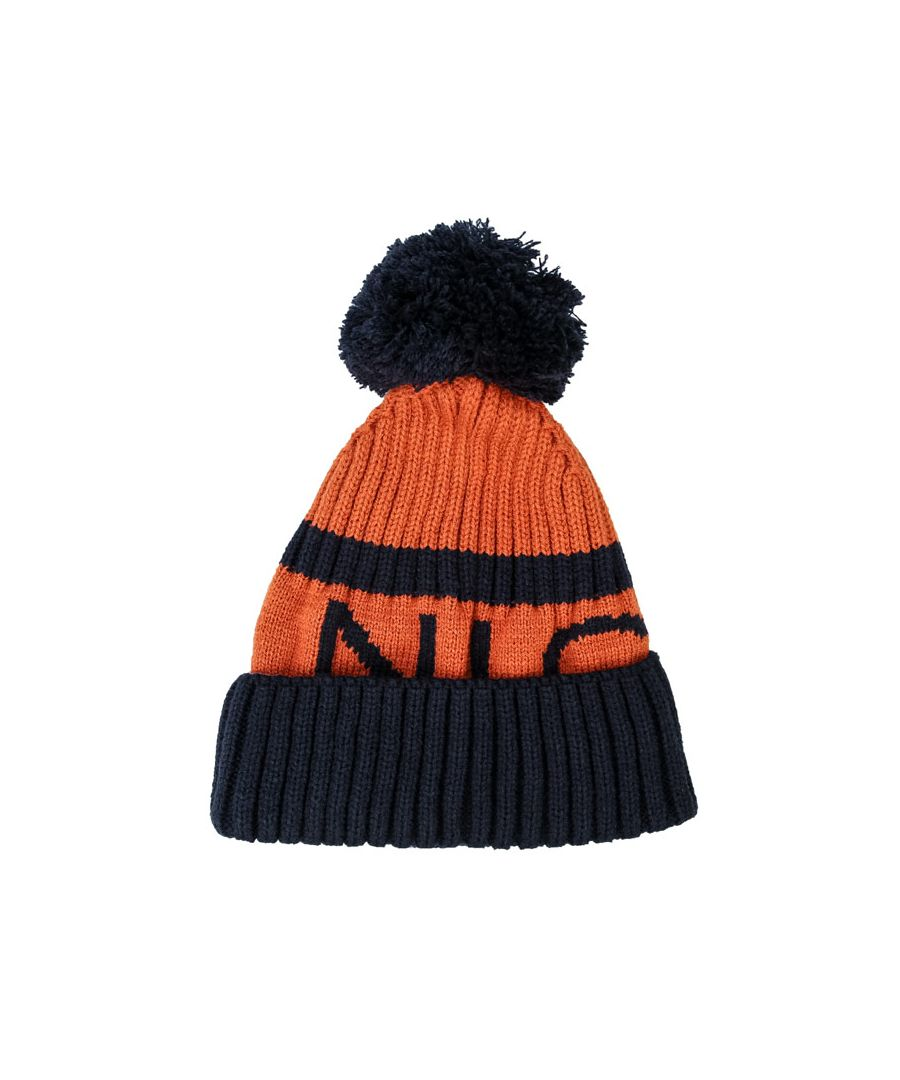Image for Accessories NICCE Footy Wooly Hat in Orange