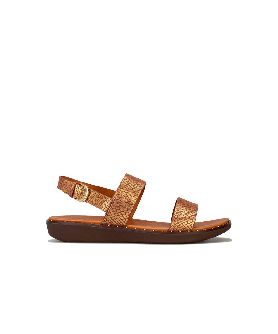 Image for Women's Fit Flop Barra Back Strap Sandals in Chocolate