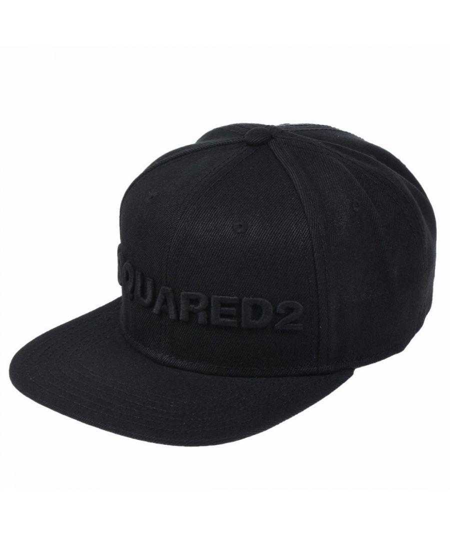 Image for Dsquared2 3D Logo Black Cap