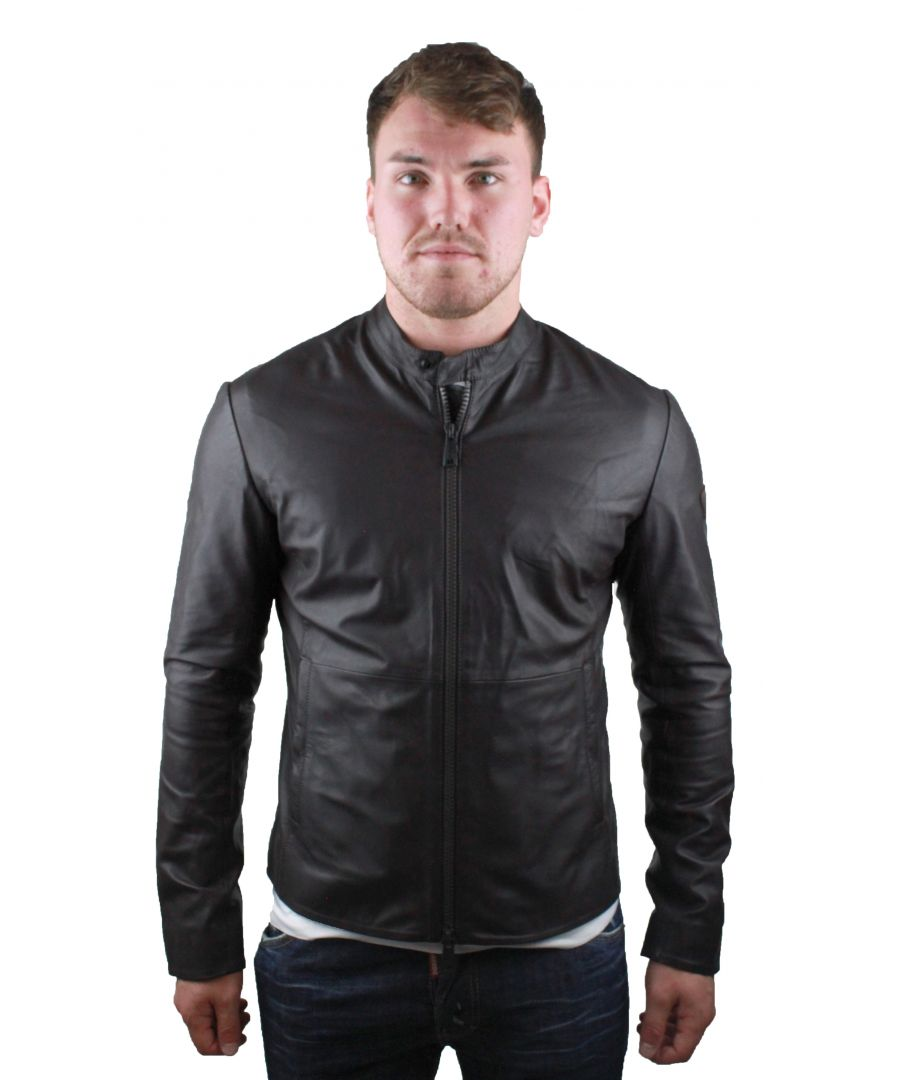 Image for Emporio Armani W1B50P W1P52 0479 Leather Jacket